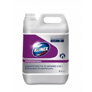 Klinex Professional 2in1 Washroom Cleaner, καθαριστικό αφαλατικό για το μπάνιο 5L
