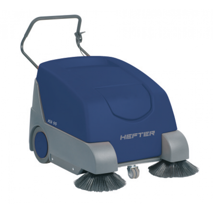 HEFTER KS 95 Σάρωθρο, καθαρίζει έως 3150 τμ/ώρα