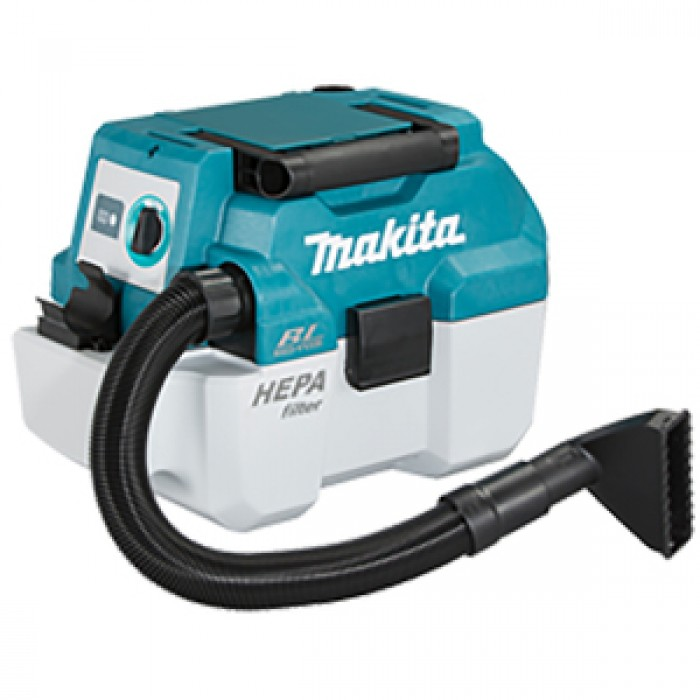 Makita Σκούπα μπαταρίας 18V 7,5L - BL (ΜΟΝΟ ΤΟ ΣΩΜΑ)