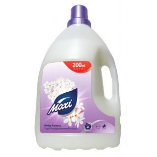 Maxi White Flowers, Υγρό απορρυπαντικό ρούχων , 3.2L