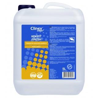 Clinex Expert, Bio Kokpit Fresh , Προϊόν καθαρισμού & προστασίας ταμπλό αυτοκινήτων, με φυσικό κερί 5L