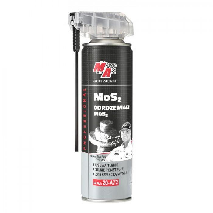 MoS2 - Lubricant Rust remover, Καθαριστικό σκουριάς - λιπαντικό, με απλικατέρ για μεταλλικά αντικείμενα, 250ml