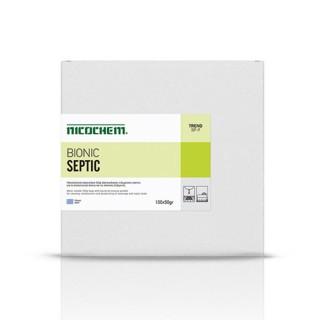 NICOCHEM BIONIC SEPTIC Σκόνη για καθαρισμό συντήρηση και απόσμηση των αποχετεύσεων & των σηπτικών δεξαμενών