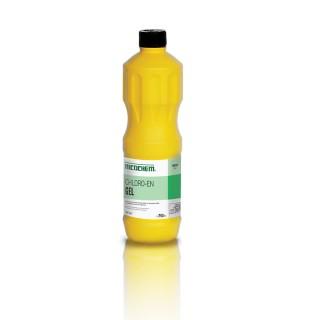 NICOCHEM CHLORO-EN GEL Συμπυκνωμένο χλώριο γενικής χρήσης σε παχύρευστη μορφή, συσκευασίες 750ml, 4Lt.