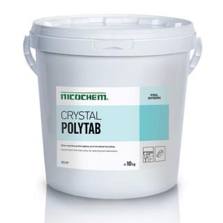 NICOCHEM CRYSTAL POLYTAB Ταμπλέτα τριπλής δράσης για την απολύμανση της πισίνας, 10kg, 50kg