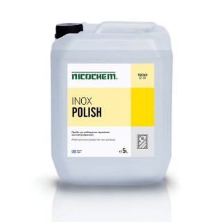 NICOCHEM INOX POLISH γυαλιστικό υγρό για ανοξείδωτες επιφάνειες