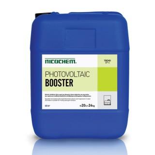 NICOCHEM PHOTOVOLTAIC BOOSTER όξινο υγρό μηδενικού αφρισμού, δεσμεύει & συμπλέκει άλατα ασβεστίου & μαγνησίου του νερού
