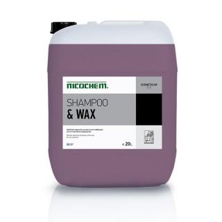 NICOCHEM SHAMPOO & WAX σαμπουάν καθαρισμού αυτοκινήτων με κερί
