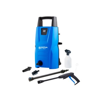 NILFISK C 110.7-5 EU συμπαγές και εύχρηστο υψηλής πίεσης πλυστικό μηχανήματα για τις βασικές υπαίθριες εργασίες καθαρισμού