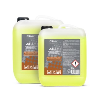 Clinex 4Hall, καθαρίζει και προστατεύει δαπέδα μεγάλων χώρων, 5L