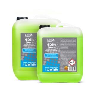 Clinex Nanochem 4Dirt Foam, αφρώδες καθαριστικό για δύσκολους λιπαρούς ρύπους, 5L