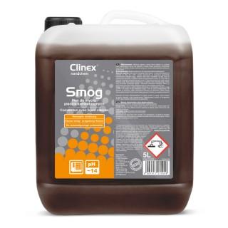 Clinex Smog, υγρό καθαρισμού για ασυπτικές μηχανές και θαλάμους καπνίσματος, 5L