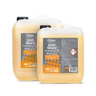 Clinex DishGlass, επαγγελματικό υγρό απορρυπαντικό για τα γυαλινα σκεύη για πλυντήρια πιάτων, 5L, 10L