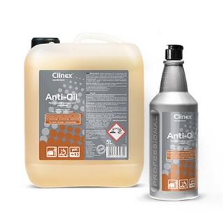 Clinex anti-oil, ειδικό καθαριστικό για λίπη για δάπεδα με βαρύ φορτίο λιπών , 1L