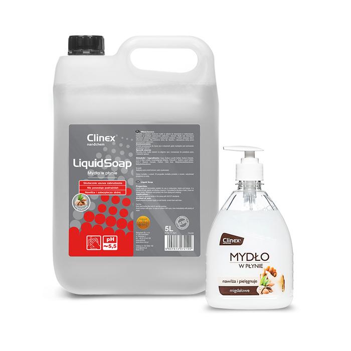 Clinex Liquid Soap, Υγρό σαπούνι χεριών, 500ML,  5L