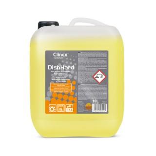 Clinex DishHard, υγρό για επαγγελματική χρήση σε πλυντήρια πιάτων, ιδανικό για εφαρμογές σε πολύ σκληρό νερό, 10L, 20L