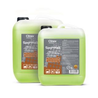 Clinex SportHall, Υγρό καθαρισμού για δάπεδα αθλητικών εγκαταστάσεων με αντιολισθητικές ιδιότητες, 5L